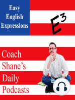 0786 Daily Easy English Lesson PODCAST—through as an ADV, PREP and ADJ