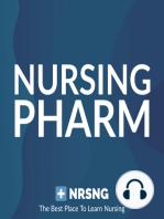 Ampicillin (Principen) Nursing Pharmacology Considerations