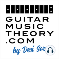 Episode 10 Blues Guitar Scales Chords Progressions and Theory: In this free guitar lesson you learn about blues guitar theory including blues chords and blues progressions. You also hear examples of how blues guitarists mix major and minor pentatonic scale patterns and use Mixolydian mode. Taught by Desi Serna of...