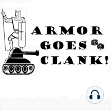 Armor Goes Clank 004 April 12, 2019 (This is Not a Strict Reproduction) (52:31): This episode presents the first Chargen Challenge featuring Sherlock Holmes! Kentucky's Stonehenge makes an appearance along with Mark and Brian's top 5 historical games. Download mp3 (28.9MB) Show links Adventures on Dungeon PlanetKentucky's S