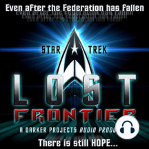 A Legend Falls: Star Trek - Lost Frontier, Episode 8: A Legend Falls As the Enterprise under goes repairs. One of the crew is murdered by a deadly assassin. (19:20, 17.9 MB, released 2008.03.26) Written by Eric Busby Featured in the cast were: Mark Bruzee as Rupert Trask