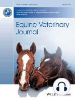 EVJ Podcast, No 27, Feb 2018- Diagnosis, treatment and outcome of cranial nuchal bursitis in 30 horses (García-López) and Influence of dental materials on cells of the equine periodontium (Staszyk)