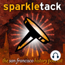 Sparkletack weekly timecapsule podcast, San Francisco October 20-26: A weekly handful of weird, wonderful and wacky happenings dredged up from the kaleidoscopic depths of San Francisco history.    October 24, 1861    The transcontinental telegraph line is finished, literally uniting the United States by wir[...]