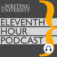 Stephen Lovely—Marathon Training for the Fiction Writer: Conditioning Your Mind and Body to Go the Distance: In this Eleventh Hour lecture, novelist Stephen Lovely will focus on the mental and physical health of The Writer: the brave, battered athlete of language.