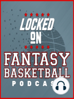 LOCKED ON FANTASY BASKETBALL - 03/29/19 - Another Big Wood Game, Ellington Fires Up, Friday DFS