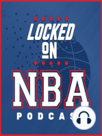 LOCKED ON NBA - ESPN's Kevin Pelton on 3 point shooting, offensive rebounding and rapid fire