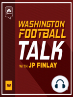 Media descends to Redskins Park the day after the Reuben Foster news and a look towards Monday's game in Philadelphia