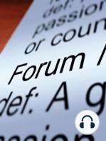"""The Forum – 05/24/2019 – Creating a """"Circular Economy"""""""