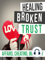 Ep 25 - Brad's Favorite Topic - Events That Make Healing After An Affair Possible