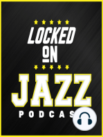 LOCKED ON JAZZ - Aug 29th - Over Under first reaction, Jazz playing time debates, who has leverage on Kyrie