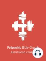 Eldership, Part One :
