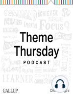 Understanding and Investing in Your Connectedness Talent -- Theme Thursday Season 4
