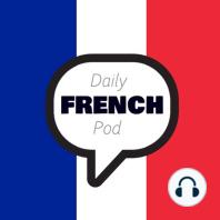 328 - Notre alimentation (Our food): Les français mangent-ils mieux ? Oui. C'est ce que semble indiquer une nouvelle étude la face positive des résultats de l'étude nationale nutrition santé 2006.
