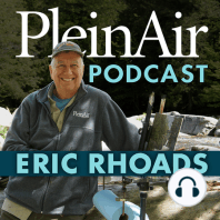 """Tom Hughes on the Importance of Camaraderie and More: In this episode Eric interviews Tom Hughes, winner of the 2019 Plein Air Salon. Hughes shares how is life has changed since winning the annual Plein Air Salon in 2019; The moment """"the heavens opened up"""" when he was looking at Winslow Homer paintings..."""