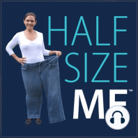 """Is """"Dieting Down"""" For An Event Ever A Good Idea?: In episode 417 of The Half Size Me™ Show, Heather talks with Dakota about  why he wants to lose weight   how he's doing after submitting a question regarding """"dieting down""""   how he is going to work on tracking at a higher calorie target and plan..."""