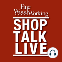 STL207: Is woodworking art?–Part 2: Mike, Barry, and Ben discuss crosscutting wide panels, knowing when to sharpen, pinning joinery, and they add a new chapter to the debate–is woodworking art?