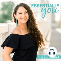 140: How to Get Youthful, Glowing Skin Naturally + Skin Loving Essential Oils w/ Dr. Mariza: Did you know that the harmful endocrine disruptors found in daily personal care products and makeup can increase your likelihood of chronic diseases? According to the environmental working group, the average woman applies 168 chemicals to her skin every s