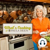 What's Cooking with Paula Deen - Asparagus Sandwich, Rice Salad and Chocolate Bananas: We are all safer at home right now... So Paula is in the kitchen preparing a nice backyard springtime picnic to share with her friend, Sandy. Paula is making a healthy asparagus sandwich, rice salad, frozen banana covered in chocolate and...