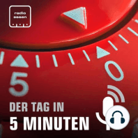 #322 Der 25. Februar in 5 Minuten: Wenig Chancen auf Olympia in Essen + Schulen werden digitaler + Viele Autofahrer gucken aufs Handy