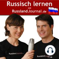 004 Russische Personalpronomen. Alle Formen des Verbs 'sprechen'. Sich entschuldigen.: Wir sprechen Englisch. Sprich langsam, bitte. Entschuldigen Sie, bitte.