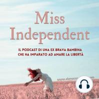 """Ep.43 - """"Si può fare!"""": due chiacchiere con Laura Carbone: L'ospite di oggi di Miss Independent è proprio un inno al """"Si può fare!"""", tanto è vero che ha scritto un libro che si chiama """"Non mollare, cambia"""" edito come il mio da Do it Human.  Lei è Laura Carbone e insieme al suo gatto Chico ci racconta un..."""