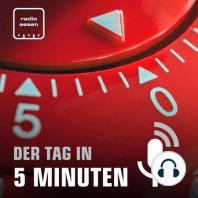 #443 Der 20. August in 5 Minuten: Neuer Bahnstreik + Hilfe für Afghanistan + Neue Corona-Regeln + Heim-Start Rot-Weiss