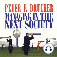 Managing in the Next Society