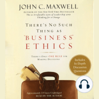"""There's No Such Thing as """"Business"""" Ethics"""