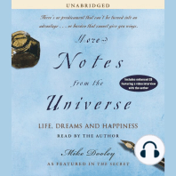 More Notes From the Universe