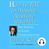 How To Talk To Anyone, Anytime, Anywhere