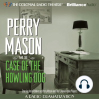 Perry Mason and the Case of the Howling Dog