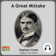 A Great Mistake