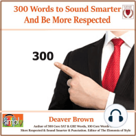 300 Words to Sound Smarter and Be More Respected