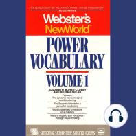 Wnw Power Vocabulary