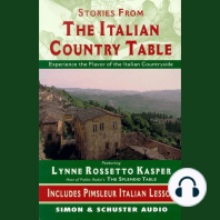 The Stories from The Italian Country Table