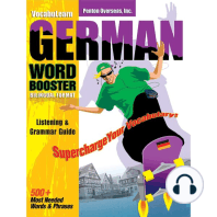 German/English Level 1