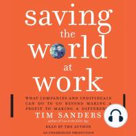Saving the World at Work