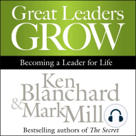 Great Leaders Grow
