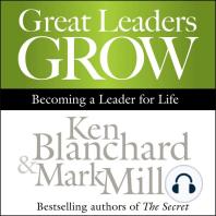 Great Leaders Grow