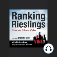Ranking Rieslings from the Finger Lakes