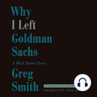 Why I Left Goldman Sachs
