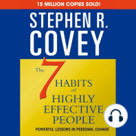 The 7 Habits of Highly Effective People & the 8th Habit