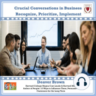 Crucial Conversations in Business