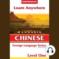 Mandarin Chinese Level 1