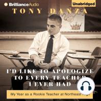 I'd Like to Apologize to Every Teacher I Ever Had