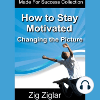 How to Stay Motivated - Changing The Picture