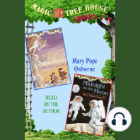 Magic Tree House: Books 7 and 8: Sunset of the Sabertooth | Midnight on the Moon