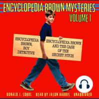 Encyclopedia Brown Mysteries, Volume 1