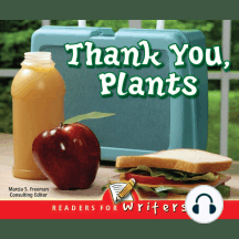 Thank You, Plants