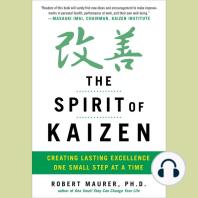 The Spirit of Kaizen